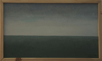 Bild:Pampa,Argentinien,Trilogie,Triptichon,Grün,Blau,d-t-b.ch,d-t-b,David Brandenberger,Biber,dave the beaver,Ölbild,Malerei,Ölfarbe,