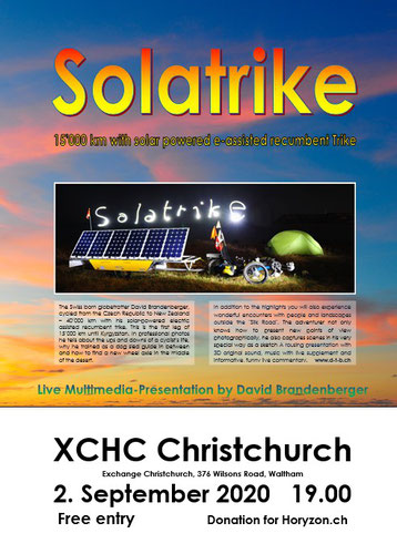 Multimedia-Show Christchurch Poster