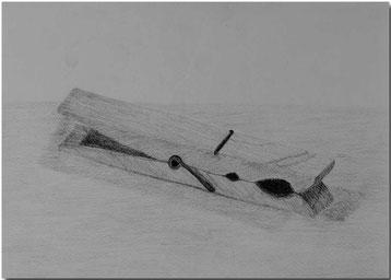 Bild:Wäscheklammer,Holz,Schule,Bleistift,Zeichnung,David Brandenberger,d-t-b.ch,d-t-b,