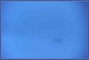 Foto:Kunst,Blau,KF001,Hütte,Nebel,Klosters Dorf,Schweiz,David Brandenberger,