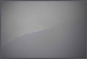 Bild:Foto,Kunst,KF004,Nebel,Klosters,Sonne,Schwarz-weiss,Switzerland,David Brandenberger,