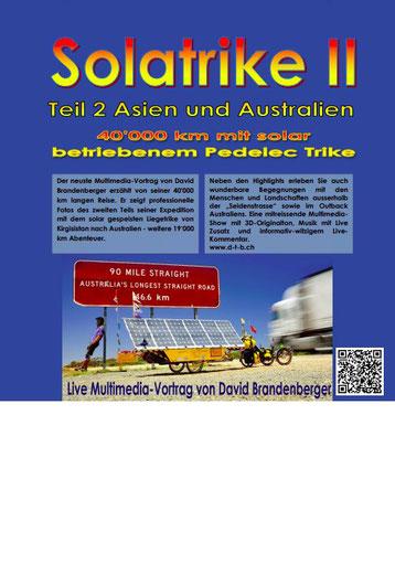 Vortrags plakat