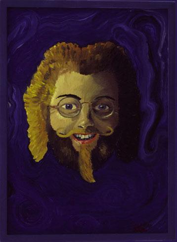 Bild:Selbstbildnis,Ölbild,Portrait,David Brandenberger,Biber,d-t-b,