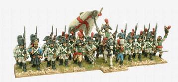 infanterie de ligne Espagnole