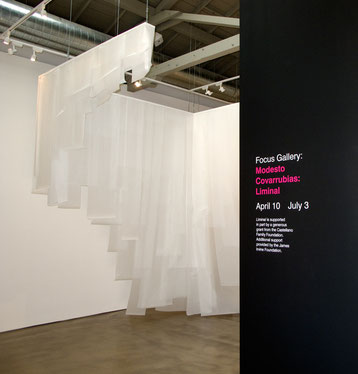 Liminal, 2010.  Entrance to the gallery.