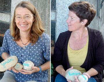 Les 2 pivoines, jardinières paysagistes, réalisent des tombes paysagères. Les2pivoines.fr