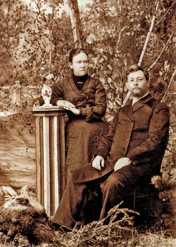 П.П. Явловский с женой