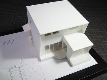 1/100び住宅模型