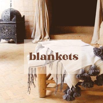 marokkaanse deken pompon blanket berber moroccan blanket frazada cottom blanket pompondeken