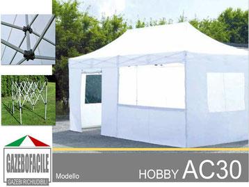 Gazebi apribili HOBBY AC30mm