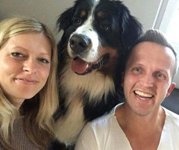 Eine kleine, glückliche Familie!