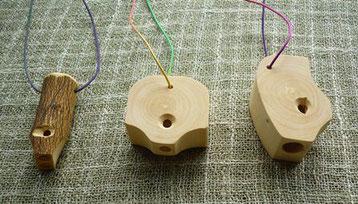 ホイッスル3種 ~みかんの木のクラフトシリーズ~