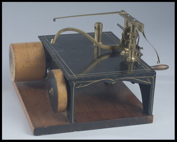 1851 Grover and Baker's Patent Model of a Sewing Machine