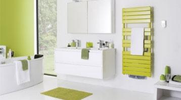 salle de bain avec sèche-serviettes atlantic pour art'elec roy