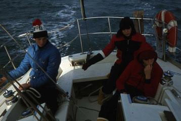 1978 - Première navigation hivernale