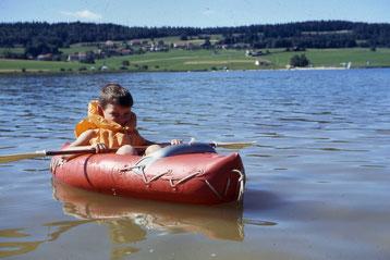 1969 - Première navigation en solitaire !