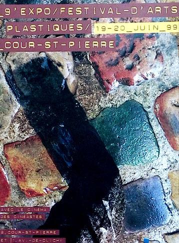 1999 - Festival d'arts plastiques - Cour Saint-Pierre, Paris - Roman Gorski