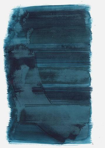 "Serie: ""Leonore Rachelle Brecher"", 2019, Tusche auf Papier, 48 x 36cm"