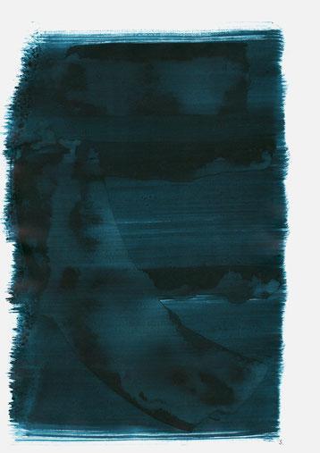 """""""Rothkirch"""", 2020, 48 x 36cm"""