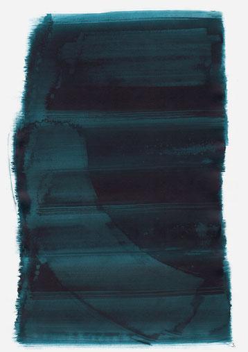 """Serie: """"Eugenie Goldstern"""", 2019, Tusche auf Papier, 48 x 36cm"""