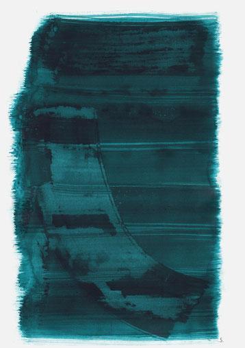 """Serie: """"Martha Geiringer"""", 2019, Tusche auf Papier, 48 x 36cm"""