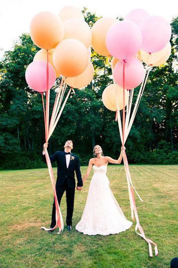 globos gigantes para Bodas
