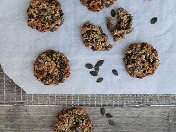Kürbiskern Cookies