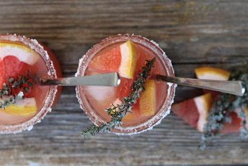 Gin Tonic mit Grapefruitsaft