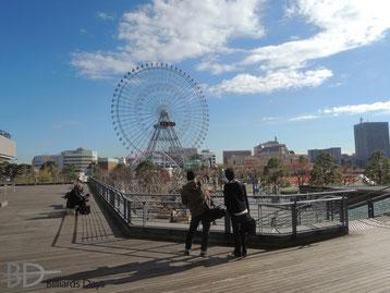 一歩外に出ると…………Yokohama !