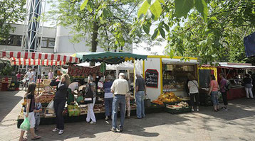 Wochenmarkt Freiberg am Necker