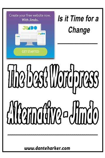 The best Wordpress alternative - Jimdo