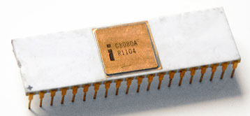Intel C8080A Side View