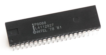 Intel P8088 Side View