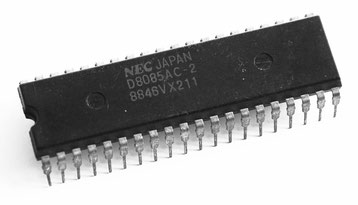 NEC D8085AC-2 Side View