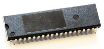 Intel P8080A Side View