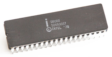 Intel D8088 Side View