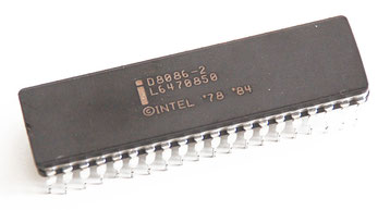 Intel D8086-2 Side View