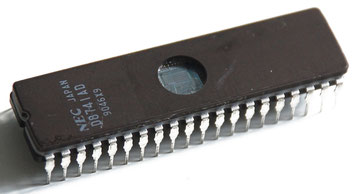 NEC D8741AD Side View