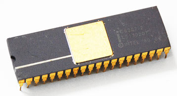 Intel C8087-2 Side View