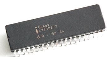 Intel D8087 Side View