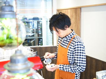 清水京あみ 店内写真 kiyomizukyoami kiyomizu kyoami photo latte art