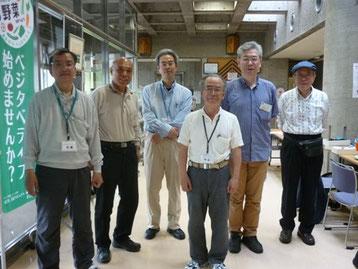 集まったドクターとセンターの職員さんです^^