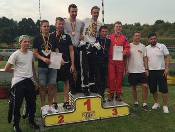 Siegerehrung Teamrennen 3. Platz