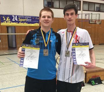 Matthias Kroll und Alexander Hammen