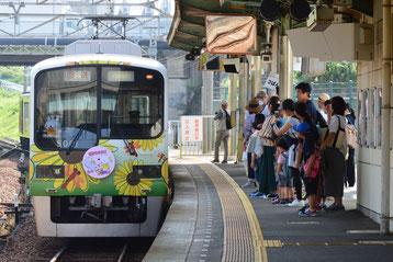 西鈴蘭台駅に入線する5002F