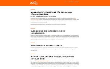 slobizz - verstehen statt lernen. klare Designsprache, Webdesign, SEO und Google AdWords-Kampagne - Peter Scheerer Webdesign & SEO Expert