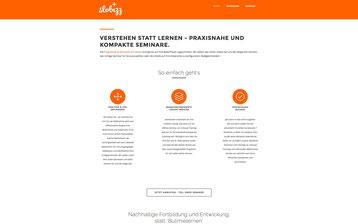 slobizz - verstehen statt lernen. reduzierte Grafiksprache, Webdesign, SEO und Google AdWords-Kampagne - Peter Scheerer Webdesign & SEO Expert