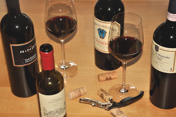 Wein und Lifestyle gehört zum Leben
