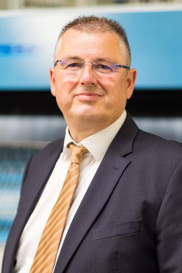 Markus Zwaller, Geschäftsführer der Witteler & Burkhardt Grosswäscherei GmbH.