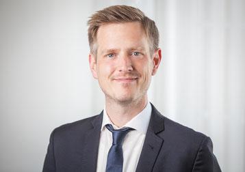 Moritz Wildschütz, Geschäftsführer der Wäscherei Sicking